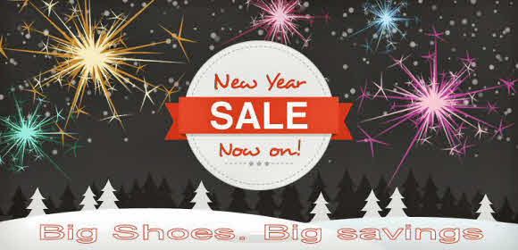 big shoe sale now on